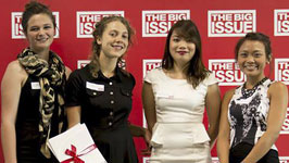 The Big Issue: Bachelor of Arts students finish sixth in The Big Idea 2014 competition