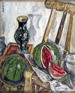 Georgette Chen. 'Watermelons' 1940-1945