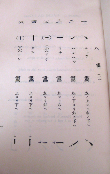 Excerpt page from Senkichi 'Moshi' Inagakis book
