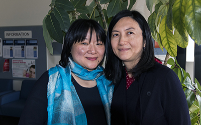 Dr Delia Lin and Dr Fengshi Wu
