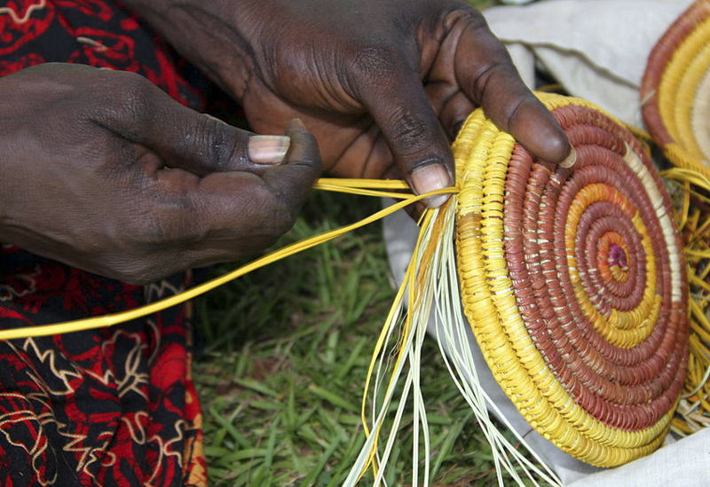 Australian Aboriginal weaving