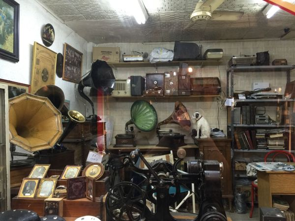 antiques inside a store