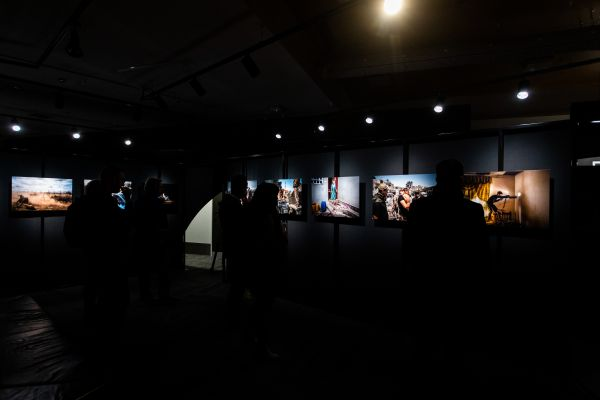 Dimly lit images in the gallery