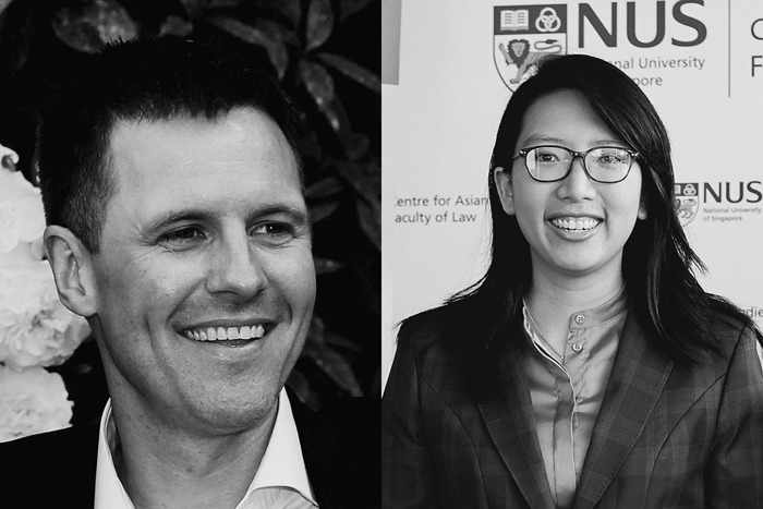 Dr Matthew Nelson and Dr Dian Shan