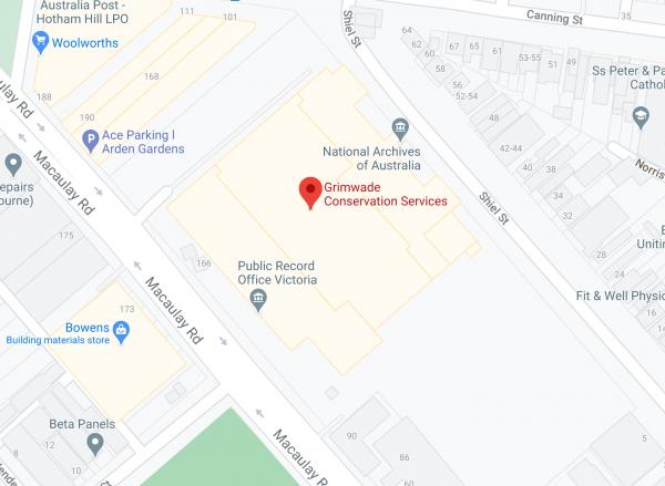 Map of GCS location