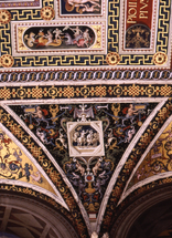 Ceiling detail, Piccolomini Library, Siena Cathedral