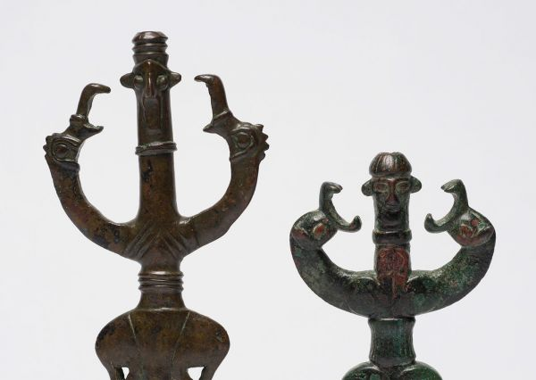 Unknown maker (Iran) 'Finials' c. 850-650 BCE (detail)