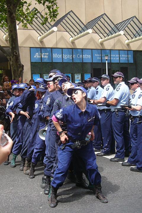 Juliet Rogers, Tranny Cops, 2006
