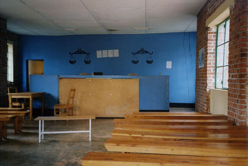 Jennifer Balint, Courtroom in Rwanda, 1998