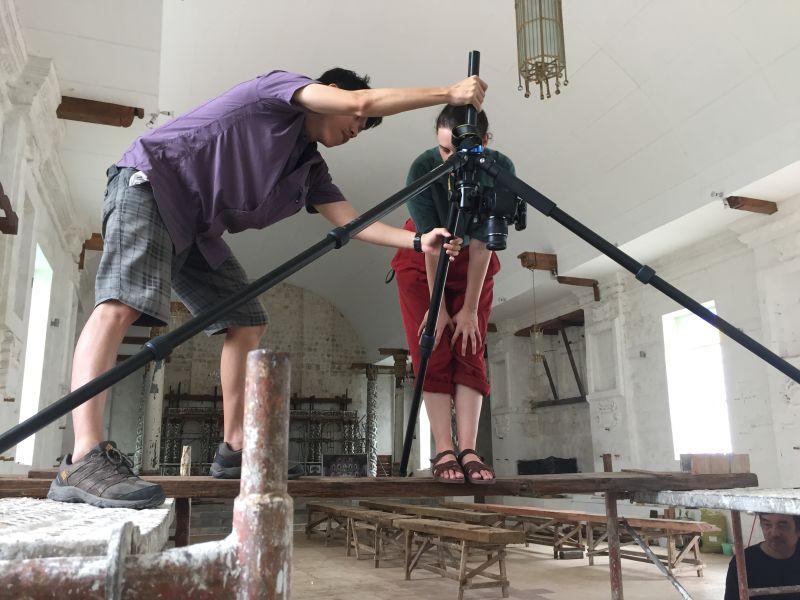 Digitising cultural material, La Inmaculada Concepcion Parish Church in Guiuan, Philippines