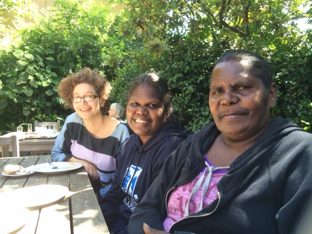Ruth, Janet, and Rachel in Melbourne