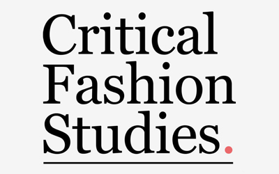Critical Fashion Studies