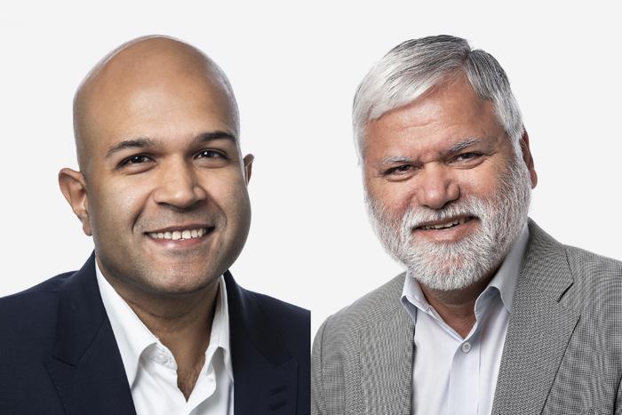 Dr Azad Bali and Dr Pradeep Taneja
