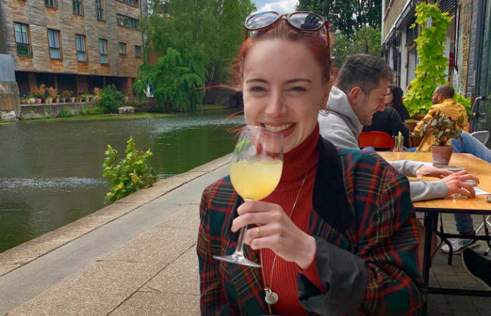 Melissa McShane in London
