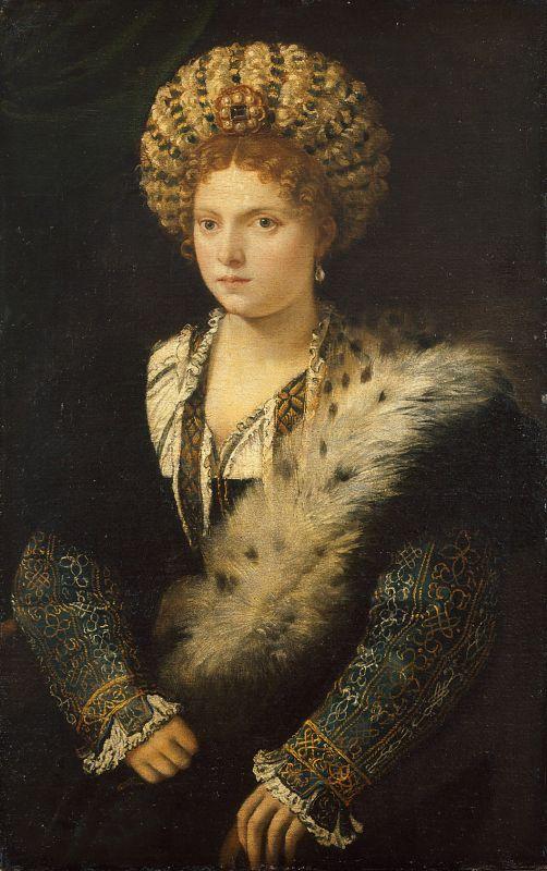 Isabella D'Este Portrait
