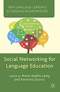 "Gruba, P. and Clark, C. ""Formative assessment within social network sites for language learning,"" in Lamy, M. and Zourou, K. (eds.,). Social networking for language education. Palgrave Macmillan, 2013, pp. 177-193"