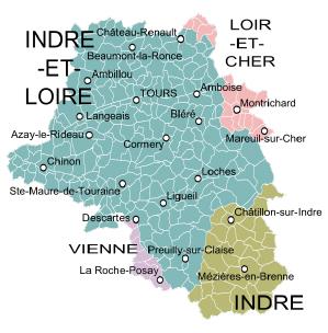 Regions of the Loire