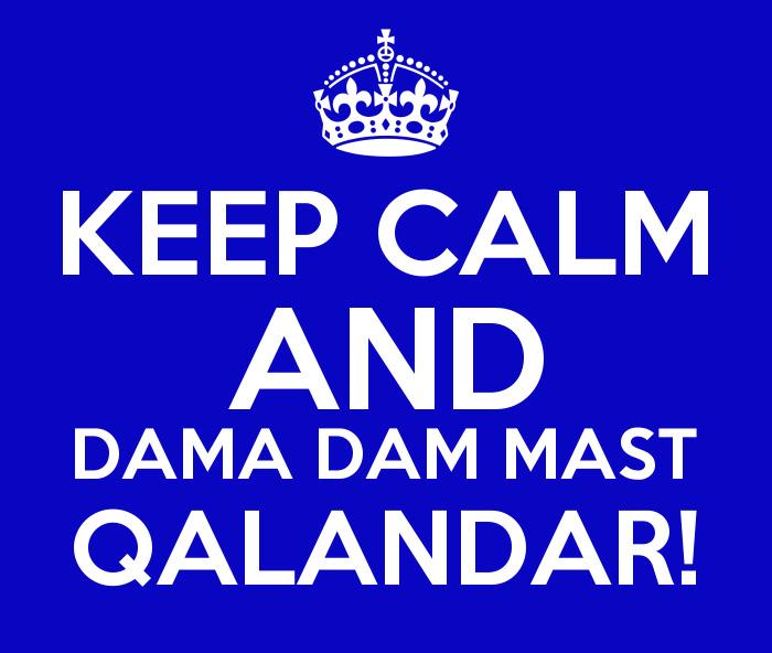 dama dam mast Qalandar