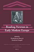 Reading Newton in Early Modern Europe