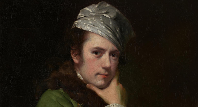 Joseph Wright of Derby. 'Self-portrait' Nd