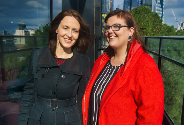 Dr Kate Macdonald and Dr Rachel Diprose