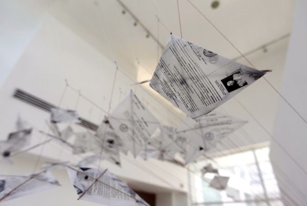 Tintin Wulia, Invasion, 2008, installation view He Xiangning Art Museum, Shenzen