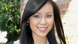 Ms Jenny Taing received the 2014 Rising Star Award for Young Alumni