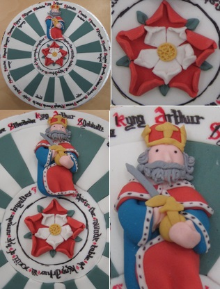 Winchester King Arthur's Round Table cake by Hannah Vanyai