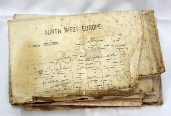 Historic military map of Northern Europe
