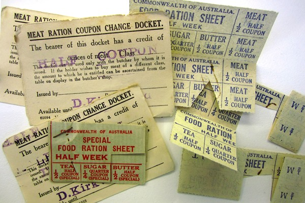 World War 2 Ration Coupons