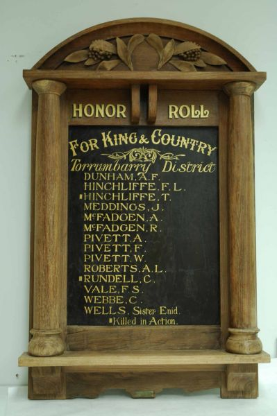 Honour Board AT