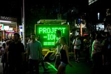 White Night Melbourne. Image by Tom Andrews.