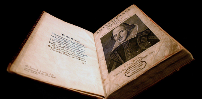 Another copy of William Shakespeare's First Folio has been found in a manor in Scotland. Dylan Martinez/Reuters