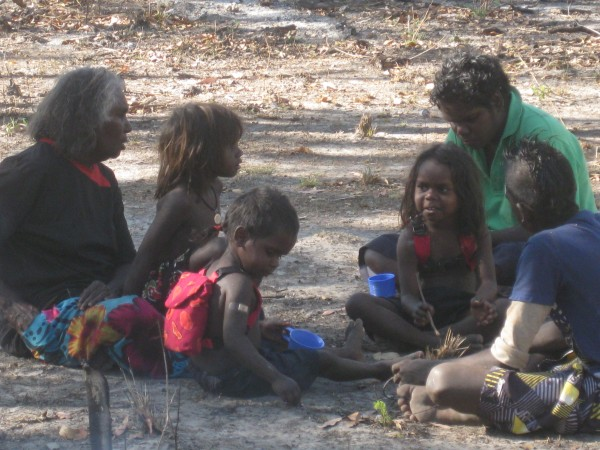 Recording child language, Wadeye 2012