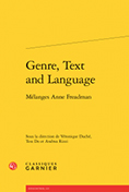 Genre, Text and Language: Mélanges Anne Freadman
