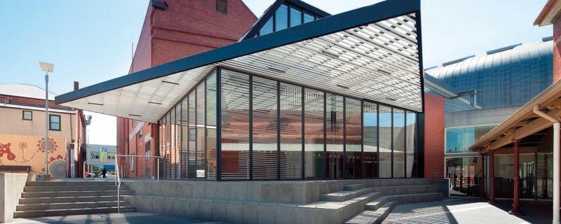 Exterior of Ballarat Art Gallery
