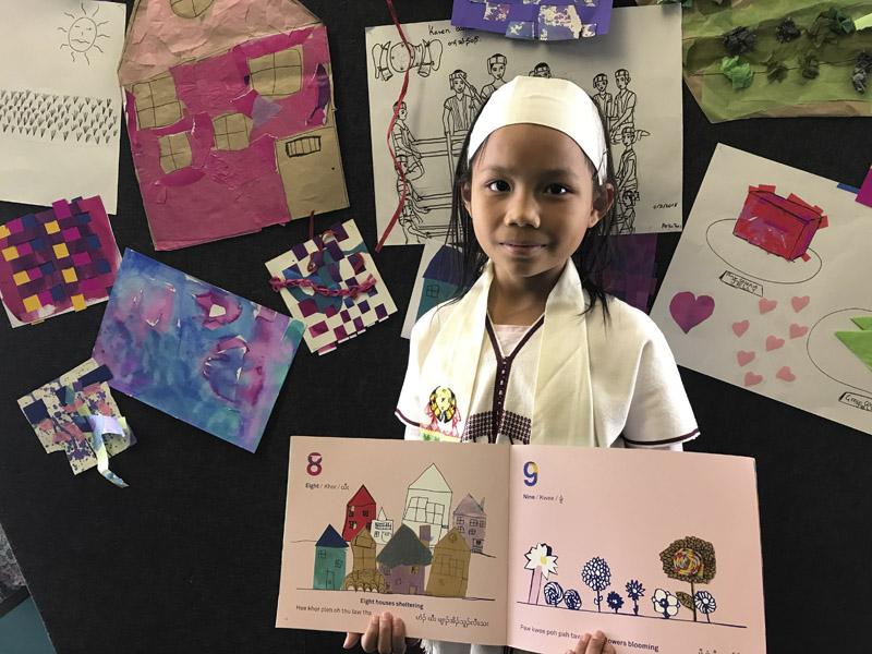 Children's Voices in their Own Books