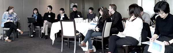 Participants at the Media, Mobilities and Identities in the Asia-Pacific masterclass