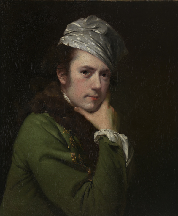 Joseph Wright of Derby Self-portrait 1765-68