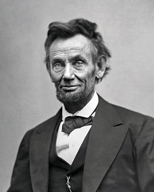 Alexander Gardner. 'Abraham Lincoln' February 1865