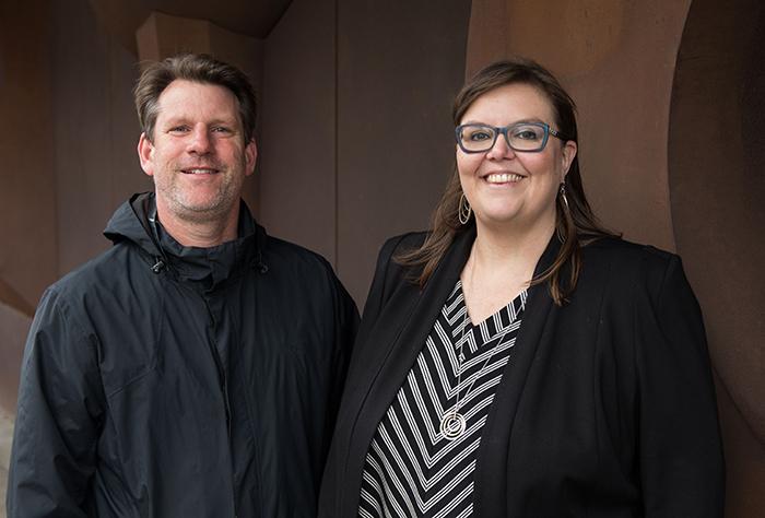 Professor Andrew Rosser and Dr Rachael Diprose