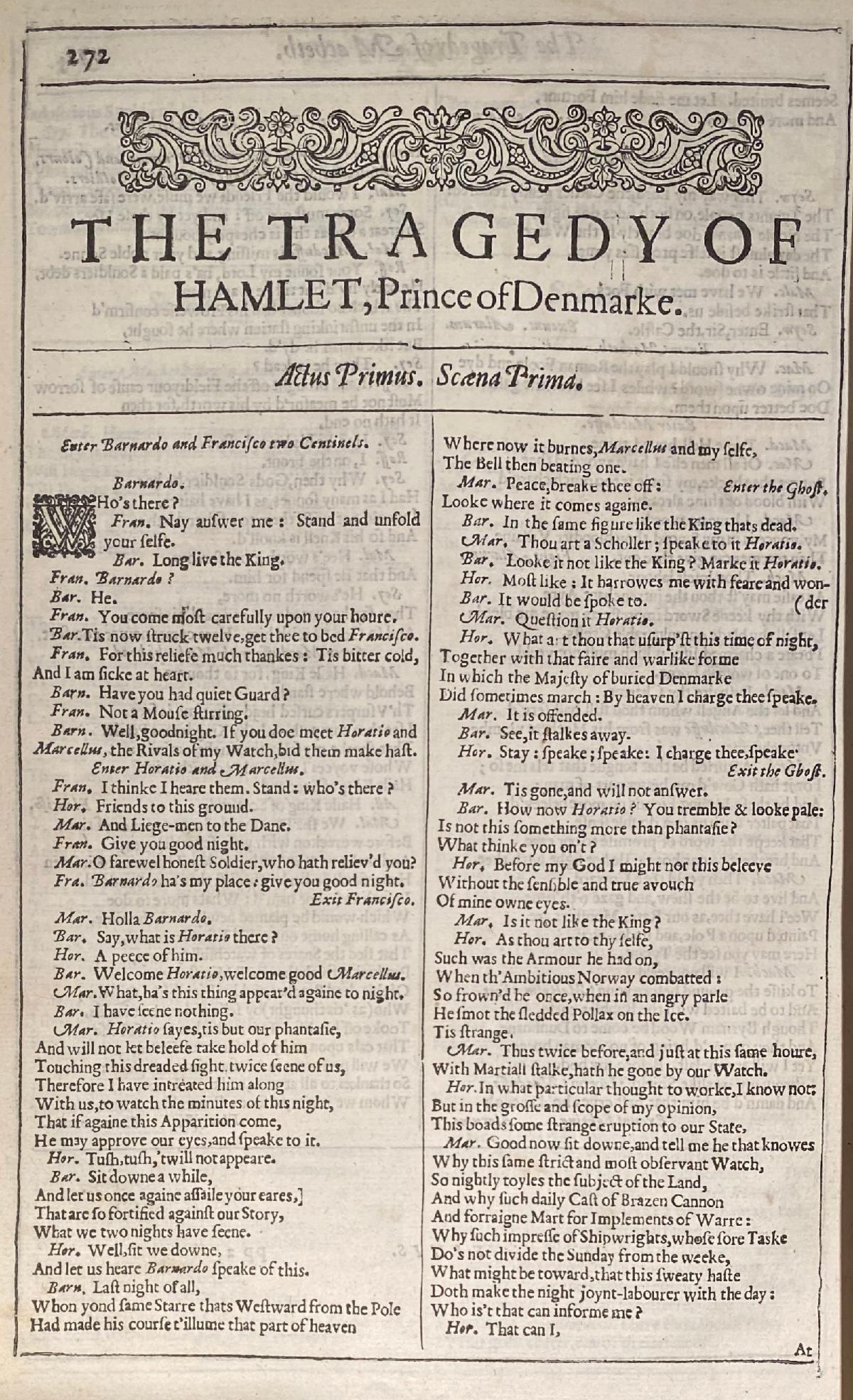 Mr. William Shakespeare's comedies, histories, and tragedie