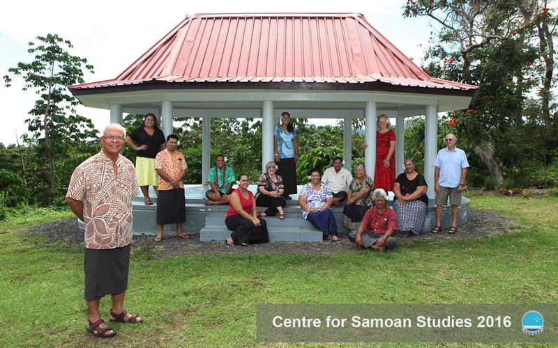Centre for Samoan Studies staff