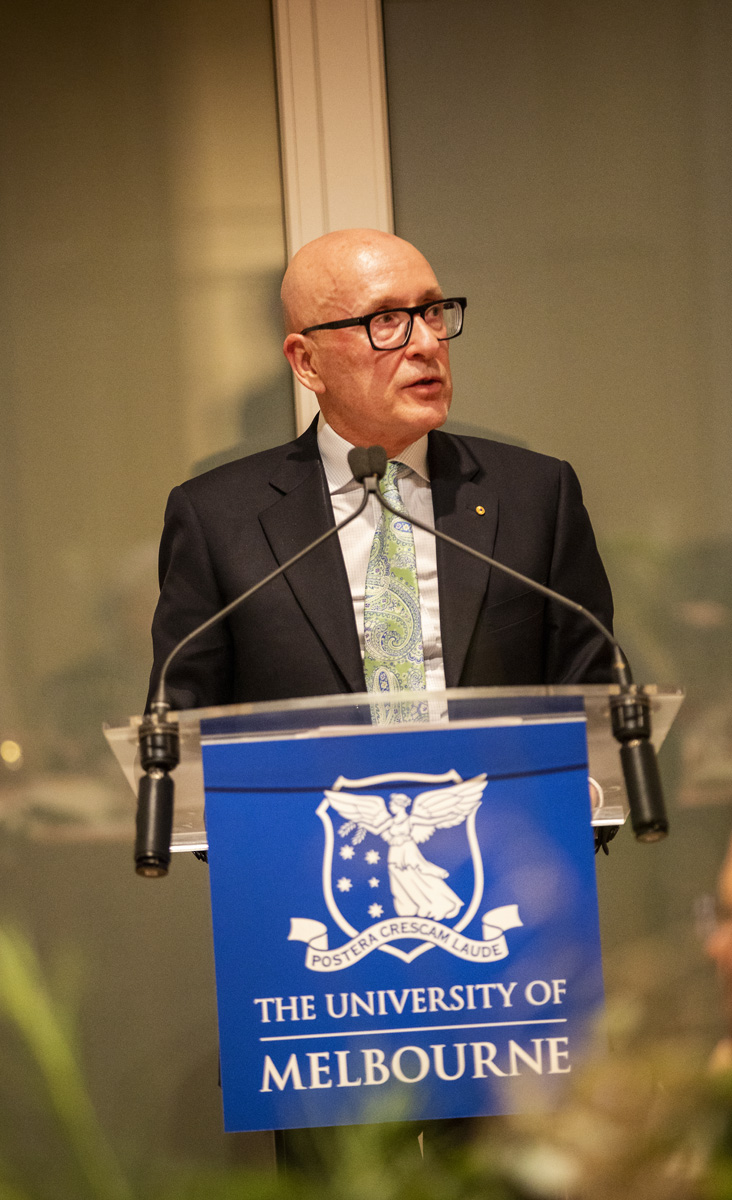 Mr Peter Jopling AM QC, Chair of the Melbourne Humanities Foundation Board (Image: David Hannah)