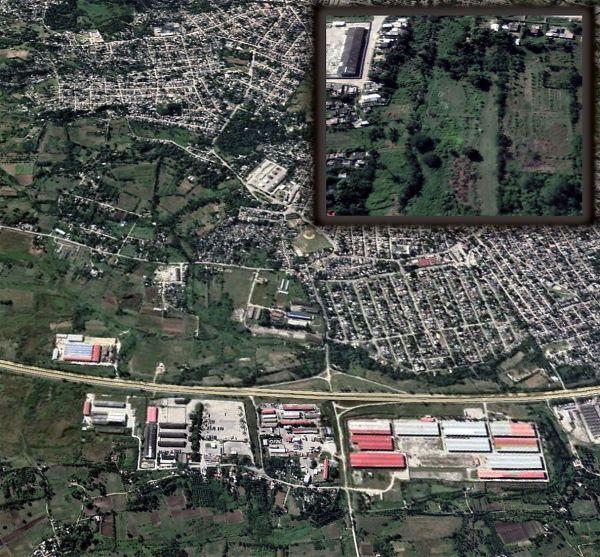 Satellite image of the farm