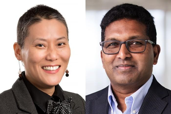 Dr Dolly Kikon and Prof Hari Bapuji