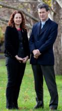 Dr Siobhan O'Sullican and Professor Mark Considine