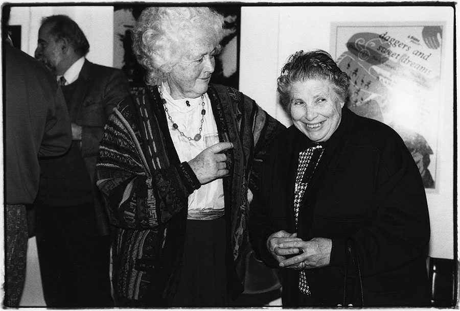 L-R: Betty Burstall, Rose Del Monaco