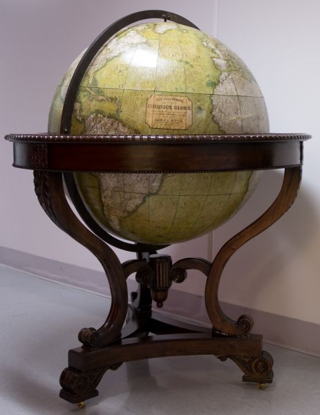 Globe after treatment
