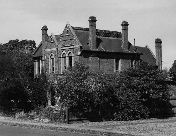 Professorial house, University of Melbourne, c. 1956-1957 (the Centre's original location)